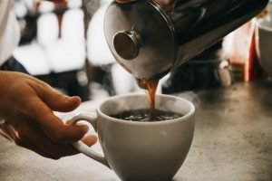 Serving with a French Press